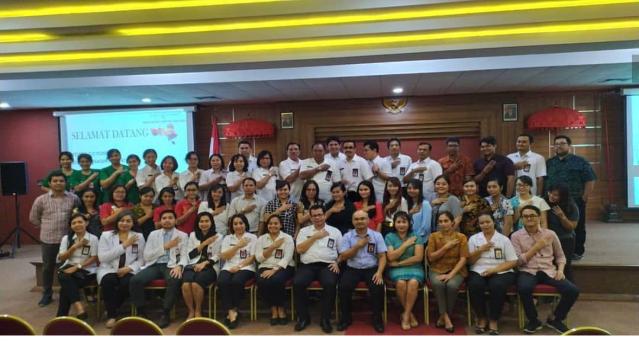 Kegiatan OJT (On The Job Training) di Rumah Sakit Umum Bali Mandara