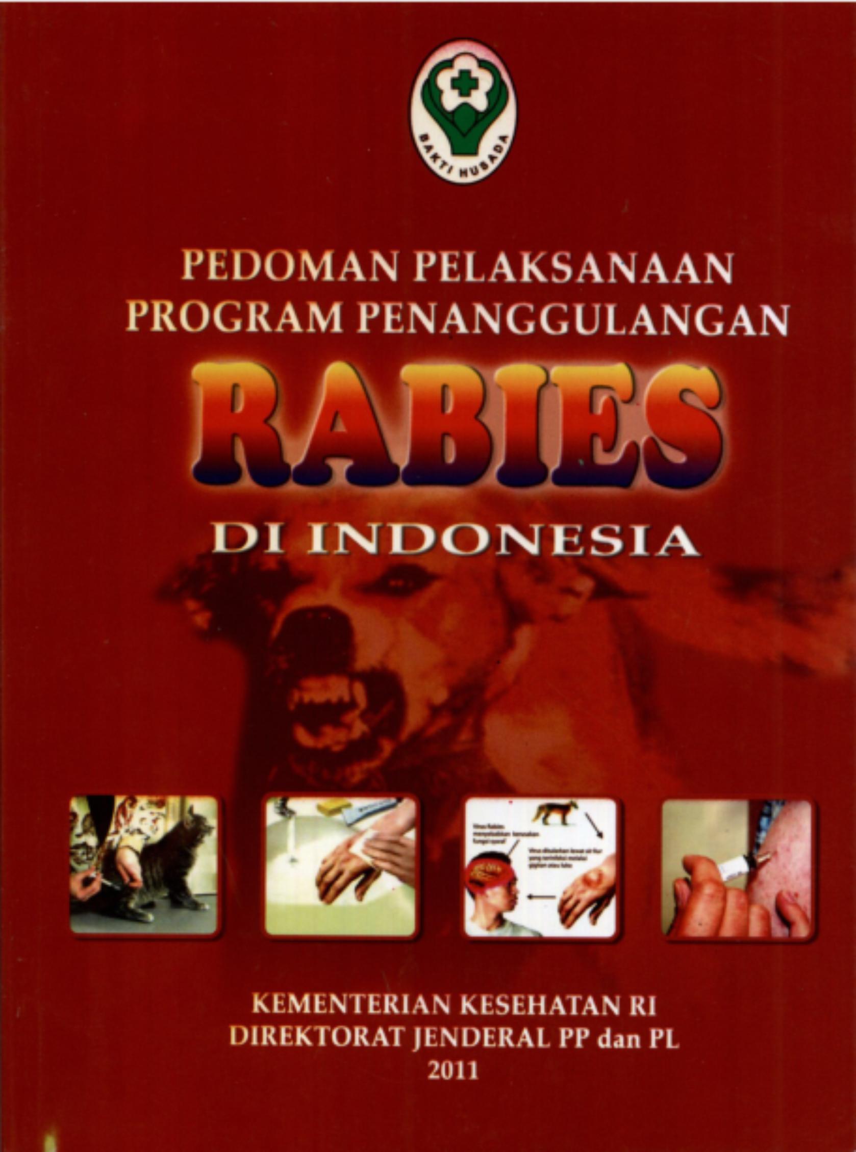 Pedoman Pelaksaan Program Penanggulangan Rabies
